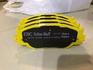 EBC brakes Yellow Stuff