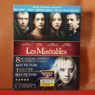 Blu Ray Movies》Les Miserables   #MakeSpaceForLove