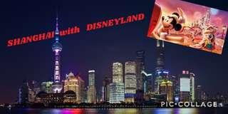 Shanghai with Disneyland