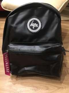 Hype黑色後背包