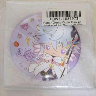 Fate 梅林 景品胸章型鏡子 FGO