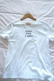 ZARA Basic T-Shirt - Size M