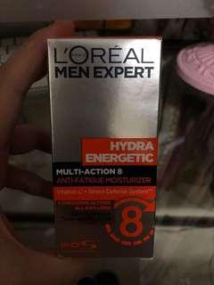 L'Oréal men expert multi action 8保濕霜