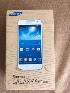 Samsung S4 mini - purchased from M1 previously