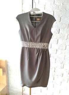 Gray Sparkle Dress #Sharethelove
