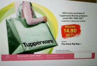 #MMAR18 Tupperware the Great Big Bag