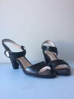 Zensu Diane strappy black heels