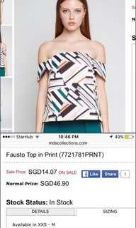 MDS Fausto Top ( size s)
