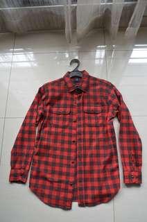 Gap Kids (14-16 Years Old) Flannel Shirt