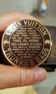 8aa38597f271 authentic Louis Vuitton Belt