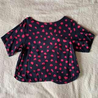 H&M Polka Dotted Top