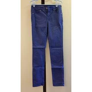 UNIQLO JEANS 藍色長褲