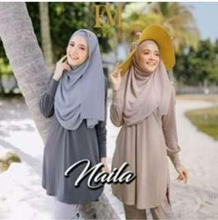 Naila blouse grey size L and XL