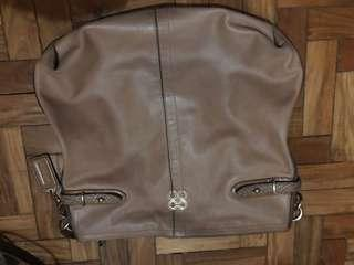 Coach beige leather