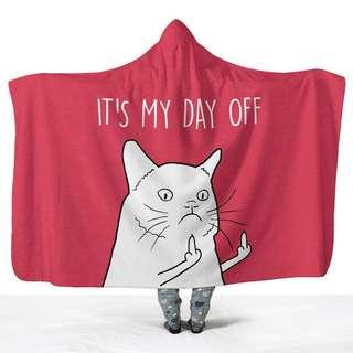 It's My Day Off Hoodie Wrap