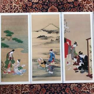🚚 Ukiyo-E Digital Prints