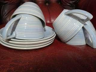 Wedgewood Jasper Conran Blue 8pc Set