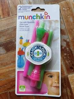 🚚 Munchkin replacement straws with valves