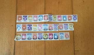 包郵-7仔印花/7-11 x 33