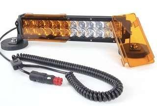 越野車LED射燈 車頂燈 强磁磁鐵底座 點煙器插頭12v取電