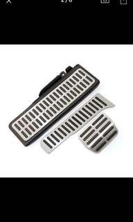VW Scirocco Stainless Car Accelerator Gas Brake pedal