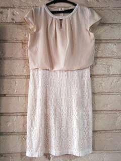 Paperdolls Beige Dress