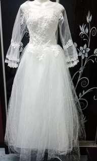 Wedding Gown Sewa Murah