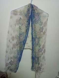 🚚 花卉圖騰披肩&圍巾