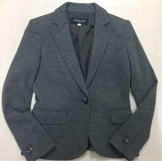 🚚 日本MK 100%純羊毛灰色套裝