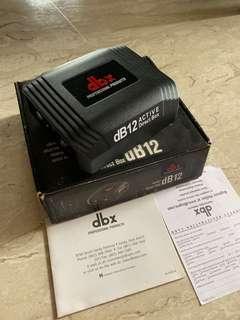 DBX active DI box