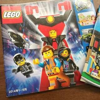 LEGO 目錄 Catalog 有Lego movie City Ninjago Marvel等等