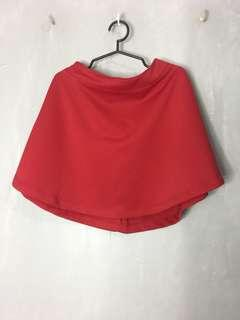 Milkshake Red Skater Skirt