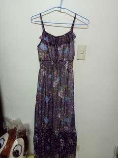 🚚 小碎花連身紗裙