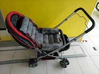 Baby Front Facing Convertible Stroller