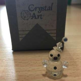 Mini Crystal Snowman