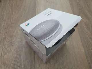 Google Home Mini Chalk Colour