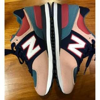 FS: New Balance Women's MK574INA Navy/Pink US 4.5 Sneakers