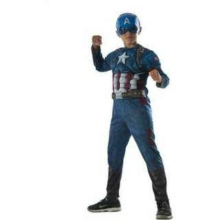 "Avengers Infinity War ""Captain America"" Child Costume"