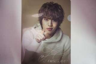 Dongwoo Second Invasion Clear File (Official Concert Merch)