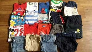 🚚 21 Pieces Boys Clothings Bundle B