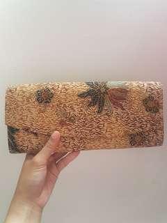 Simple Batik Clutch