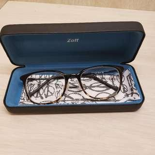 Zoff Smart 玳瑁眼鏡幼框