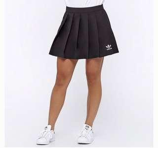 Adidas Originals Pleated Skirt Black