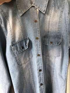 [PRELOVED - F] Denim Shirt