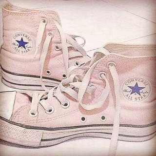 Converse Chuck Taylor All Star High Tops in Pink Dust (Unisex) *with box ✔️