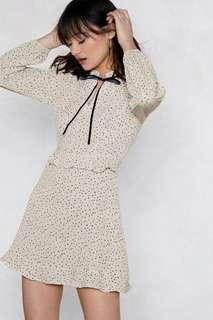 🚚 Nastygal Don't Bow Breaking My Heart Dress