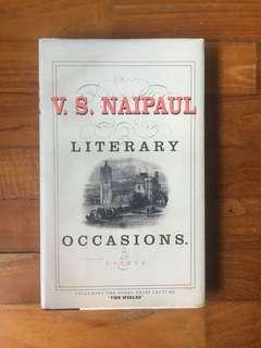 V. S. Naipaul - Literary Occasions: Essays (Alfred Knopf, 20036