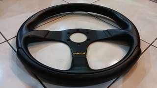 Original Momo Leather Sports Steering