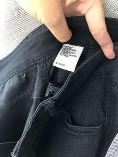 [PRELOVED - F] H&M Black Jeans