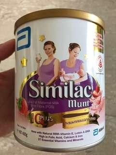 [For Mums] Similac 400 grams Strawberry Milk